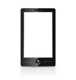 Blank smartphone vector image vector image