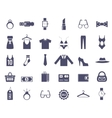 Clothing and Accessories Themed Graphics vector image