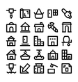 Construction Icons 6 vector image