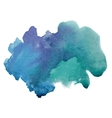 Beautiful watercolor texture vector image