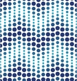 Blue geometrical circle pattern vector image