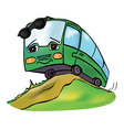 bus summer vector image