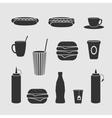 Diner set vector image