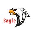 Eagle emblem Hawk graphic symbol vector image