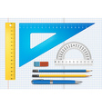 Education supply vector image
