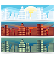 Downtown Banners vector image
