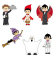 costumes child vector image