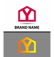 Letter Y logo symbol icon vector image