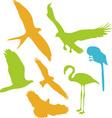 Birds Digital Clipart 2 vector image
