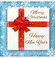 Merry Christmas celebration background vector image