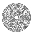 Labyrinth Kids Maze vector image