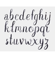 alphabet Hand drawn letters vector image