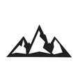 mountain icon2 vector image