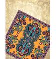 flower carpet ornamental design vector image