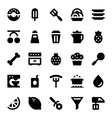 Hotel Services Icons 10 vector image