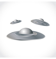 UFO ships vector image vector image