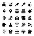 Hotel Services Icons 11 vector image