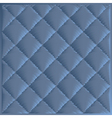 Quilted fabric polyester fiber vector image