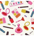 Make up pattern vector image vector image