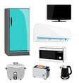 electric appliance vector image