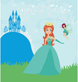 princess and fairy vector image