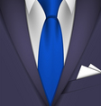 suit and tie vector image