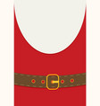 flat style design santa claus vector image