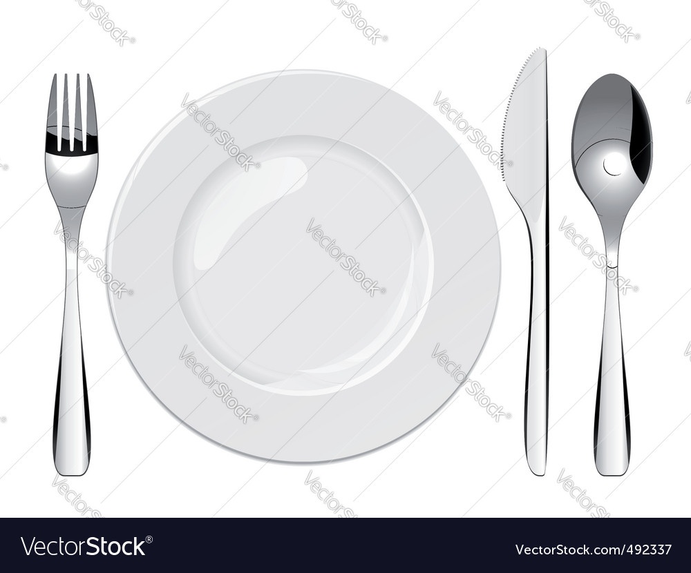 Place setting vector