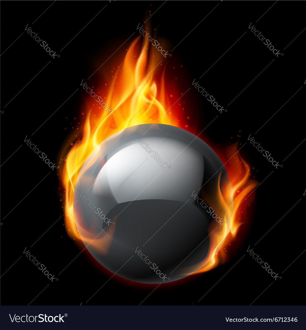 Fire sphere vector