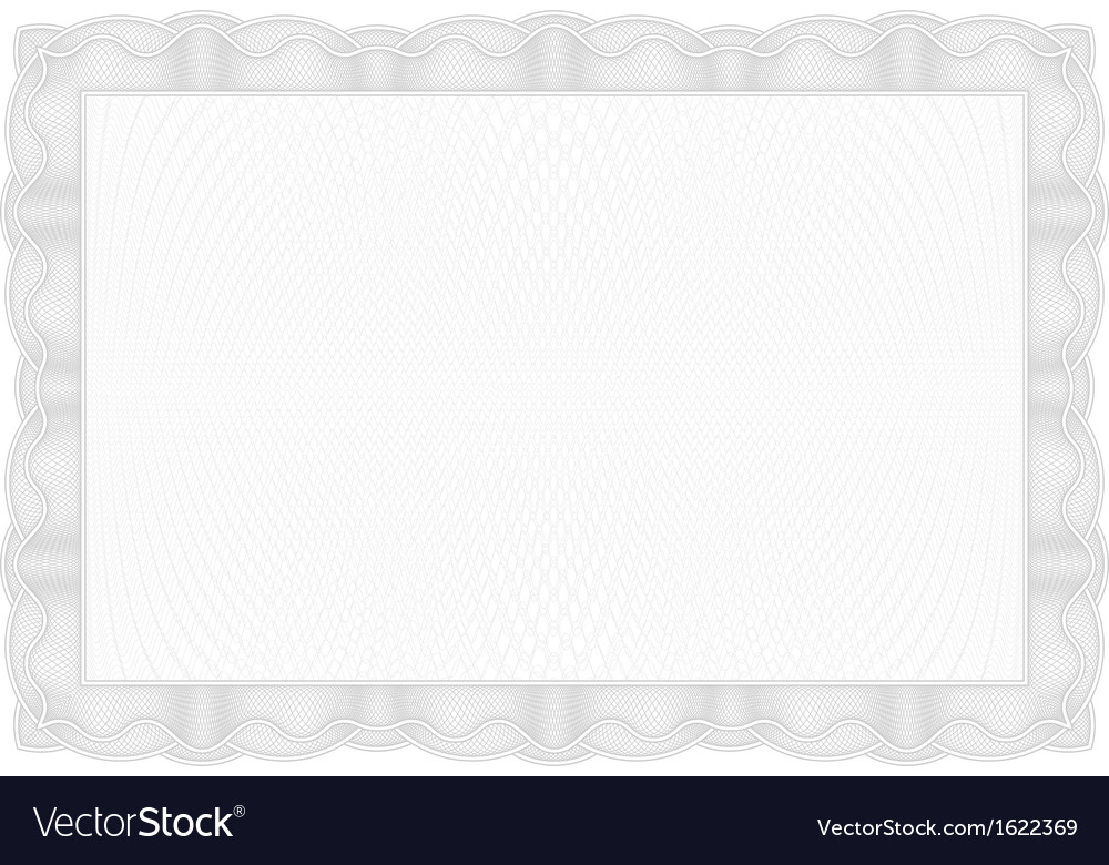 Template gray border diplomas certificate and vector