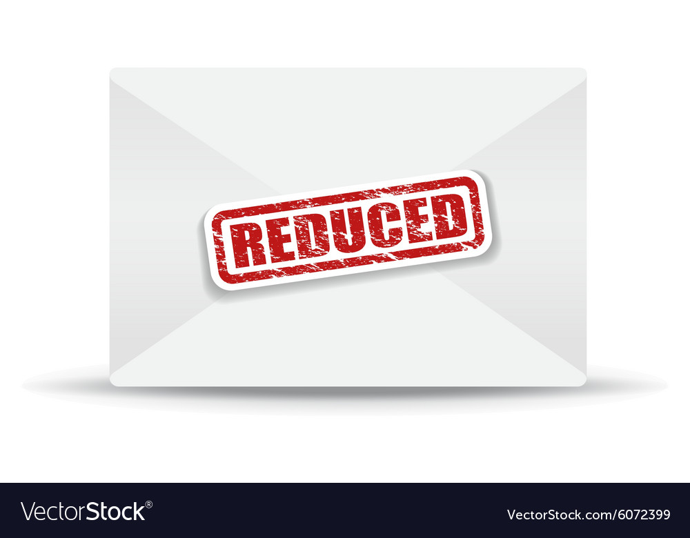 Reduced white closed envelope vector