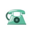 antique telephone communication vector image