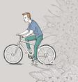 Boys People sketch vector image