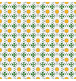 Design seamless colorful flower pattern vector image