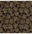Flower Leaves Pattern Background vector image