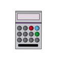 school calculator math number counts vector image