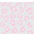 leopard light pink vector image