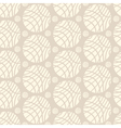 Big and Small Striped Ivory Spheres on Beige vector image