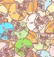 US Helmet Ball vector image