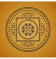 Vintage mandala vector image