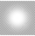 glowing light effect vector image