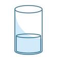 orange juice glass icon vector image