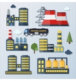 Plants and factories vector image