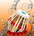 bongo drum vector image