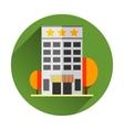 Hotel building EPS8 vector image