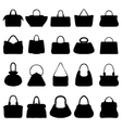handbags 2 vector image