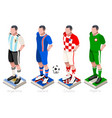 world cup soccer group vector image