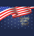 banner to memorial veterans day 11 november vector image