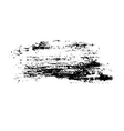 Grunge brush texture smear vector image vector image