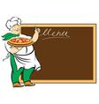 menu board vector image vector image